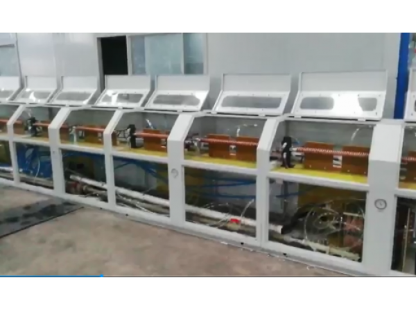 Spring Steel Wire Induction Quenching and Tempering Production Line