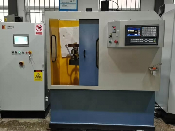 100 KW induction hardening machine for ball head